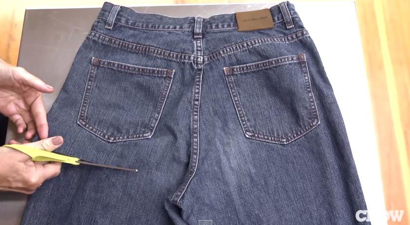Ideia genial para reutilizares as calças de ganga que já não usas!