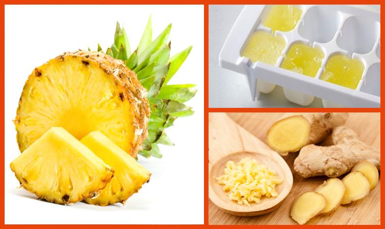 Perder até 4kg por semana? Sim é possível! Com abacaxi e gengibre!