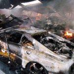 47 Carros de luxo destruídos em incêndio! Chocante para os amantes de carros!