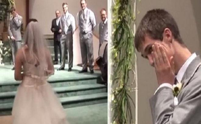 Noiva surpreende toda a gente e faz o noivo chorar! Em pleno altar!