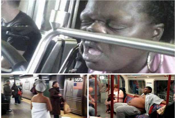 20 Razões arrepiantes para não andares de transportes públicos!