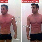 Ele perdeu mais de 11 quilos em apenas 24 horas! Impressionante!