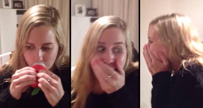 Encomendou um produto na internet para pôr os lábios mais volumosos. O resultado? Inacreditável!