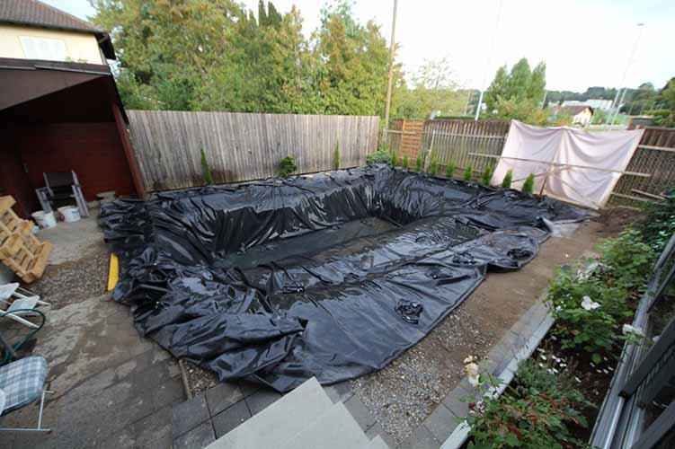 N o vais acreditar no que transformaram este quintal for Construir laguna artificial