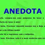 Anedota – Máquina de lavar roupa alentejana