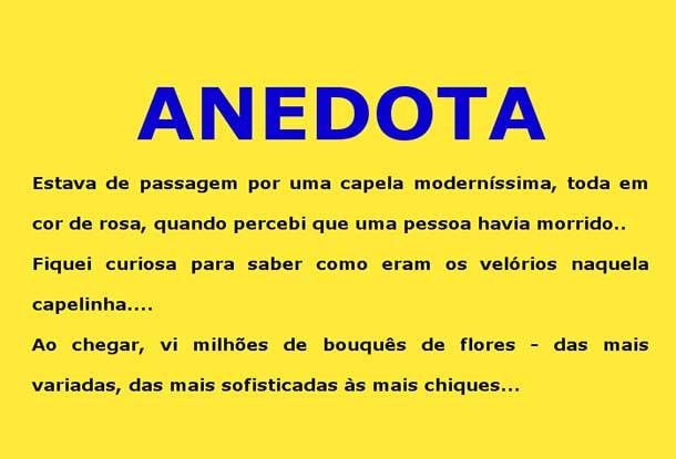 Anedota – Velório de loiras