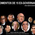 Os rendimentos de 15 políticos portugueses antes e depois do Governo! É uma vergonha!