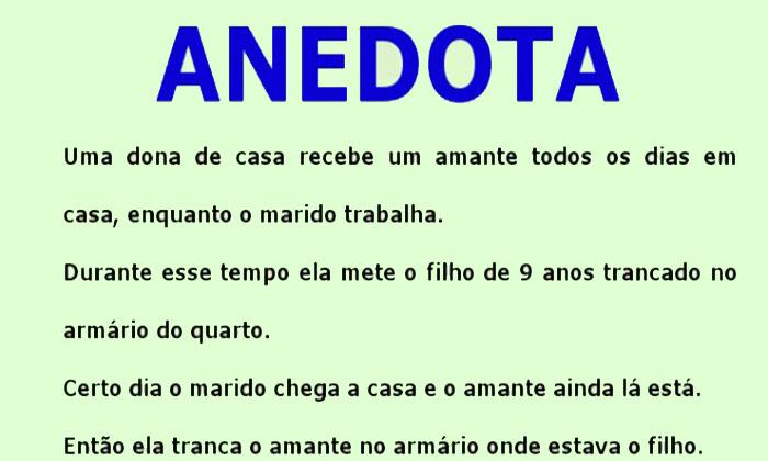 Anedota – O amante improvável…