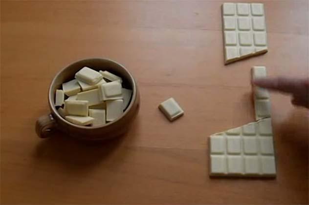 Aprende a criar chocolate do nada! Vais ficar surpreendido com este truque! É impressionante!