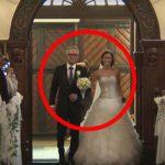 A noiva e o seu pai entram na igreja… O que eles fazem deixaram até o noivo em choque!