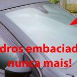 Como não ficar com o vidro do carro embaciado nunca mais! Dica muito útil!