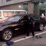 Nem vais acreditar o que esta mulher fez ao BMW 740 do marido!