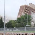 Incrível! Nestas demolições os edifícios caem como se fossem castelos de cartas!