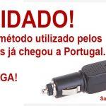 Novo método utilizado em Portugal para roubar o seu carro!