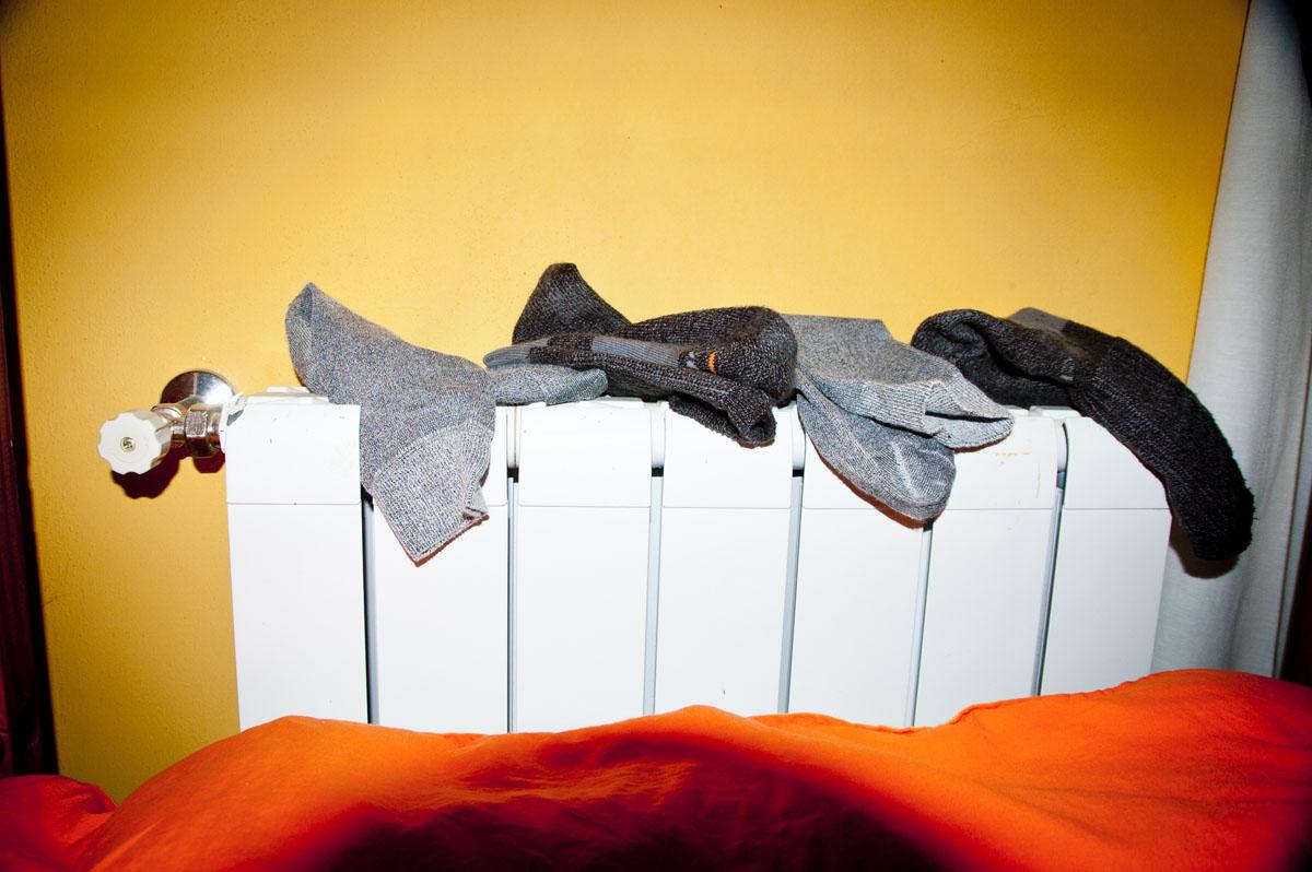Secar a roupa nos aquecedores ou radiadores pode ser fatal!