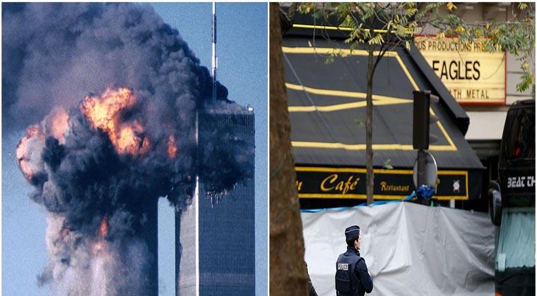 Homem que sobreviveu ao 11 de Setembro, também sobreviveu no Bataclan! Impressionante!