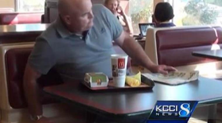 Ele esteve 90 dias a comer apenas McDonald's… Não vais acreditar como ele ficou!