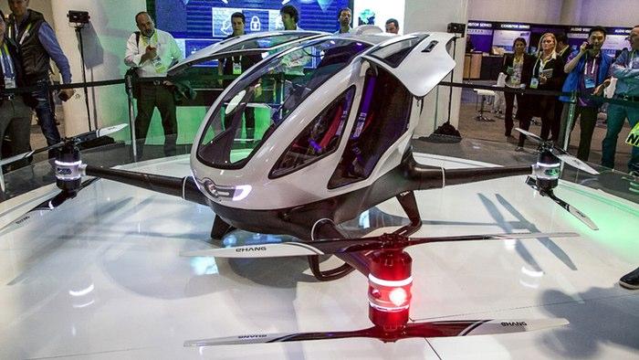 Incrível!! Fica a conhecer o drone concebido para transportar pessoas