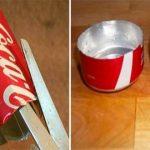 Nunca mais vais deitar as latas de refrigerantes para o lixo depois de veres isto! Que ideia de génio!