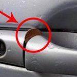 Se encontrares ISTO na porta do carro tem CUIDADO! Podes estar prestes a ser roubado!
