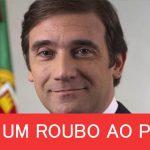 Mais uma vergonha que está a chocar os portugueses! A nova roubalheira Relvas Coelho: Novo roubo é inconstitucional!