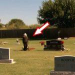 Esta idosa de 78 anos visitava a campa do marido… Mas momentos depois, algo chocante aconteceu!