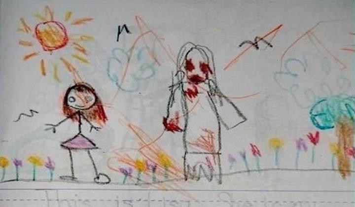 Pais leram o diário da filha pequena… Mas ficaram aterrorizados com o que encontraram!