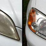 Com este truque vais deixar os faróis do teu carro a brilhar como novos em apenas 10 minutos!