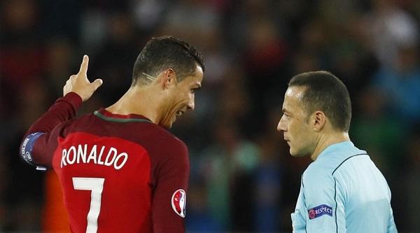 Estas riscas no cabelo de Ronaldo têm um grande significado! Que gesto incrível!