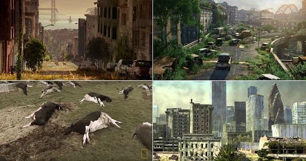 Isto é o que aconteceria à Terra se os humanos desaparecessem! É impressionante!