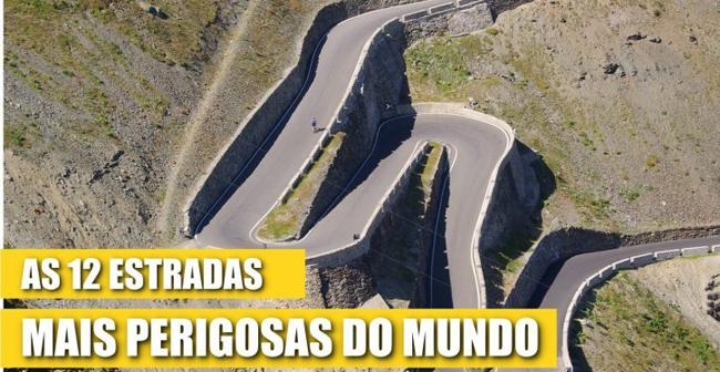Estas são as 12 estradas mais perigosas do mundo! Tinhas coragem para passar na #4?