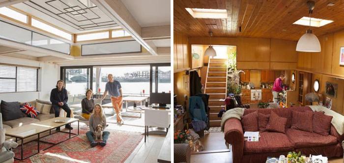 Estas famílias vivem num barco, e a vida deles parece simplesmente fantástica!