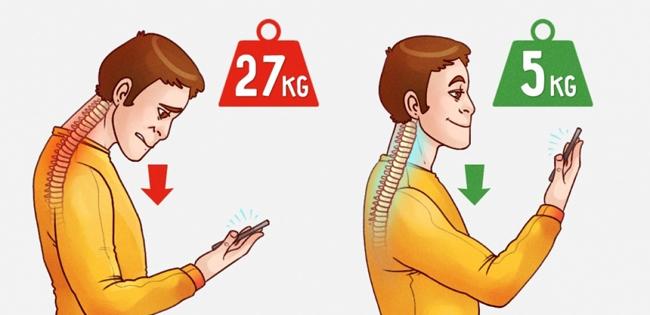 É muito importante que saibas utilizar o telemóvel para não afectar a tua postura! E esta é a melhor forma!