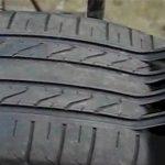 É assim que os burlões fazem para que um pneu velho tenha a aparência de um novo! Tem cuidado com isto!