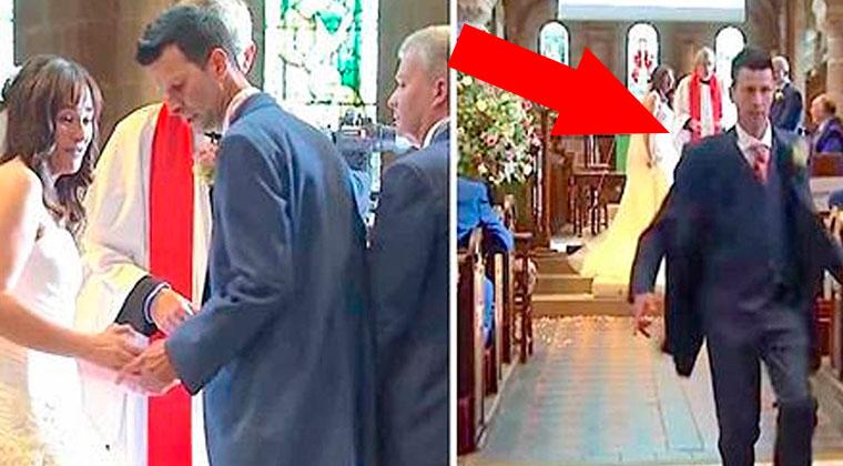 Os convidados ficaram chocados quando ele deixou a noiva no altar e fugiu… Mas depois… Inacreditável!