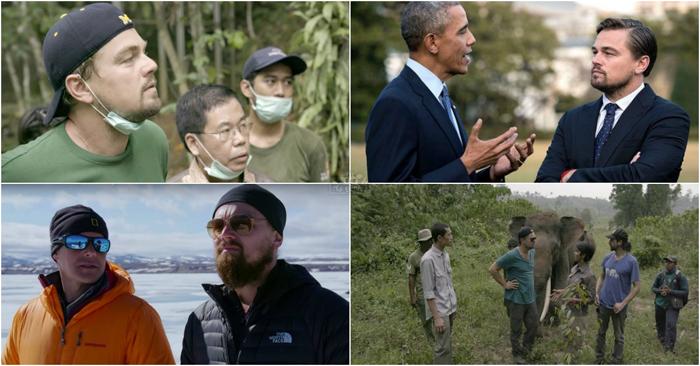 O documentário de Leonardo DiCaprio sobre alterações climáticas tornou-se viral na internet! E vais entender porquê!
