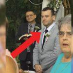 O noivo estava no altar… Mas quando viu a noiva chegar… A sua reação surpreendeu toda a gente! Impressionante!
