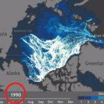 O Gelo do Ártico está a desaparecer! Este vídeo mostra essa triste e chocante realidade!