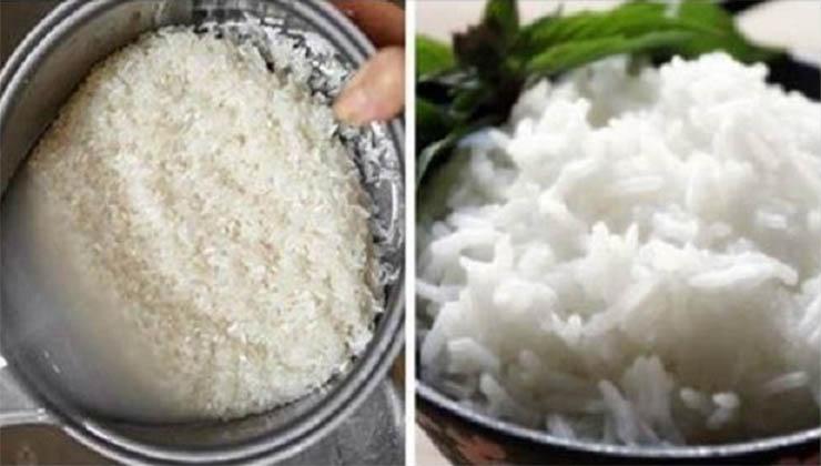 Um truque que todas as pessoas deviam saber! Como tornar o arroz branco mais saudável e menos calórico!