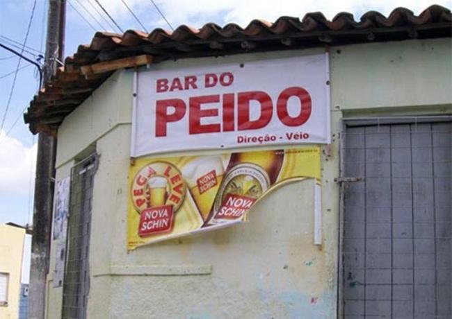 Bares Brasileiros com nomes que não lembram nem ao diabo!