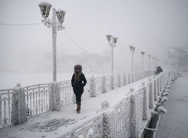 Esta é a vila mais fria do mundo! As imagens são impressionantes! E arrepiantes!
