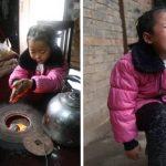 Esta menina cuida dos seus avós e trata de tudo sozinha! E tem apenas 5 anos!