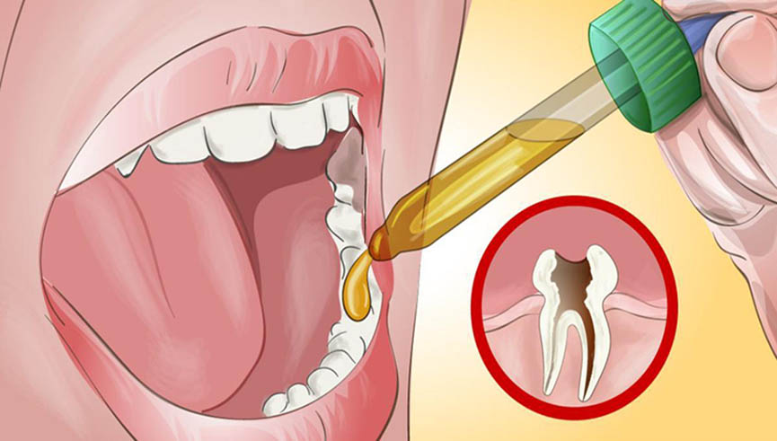 O dentista não queria acreditar quando ele lhe disse como aliviou a dor de dentes!