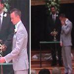 A noiva virou as costas e abandonou o noivo no altar… Mas a seguir… Todos ficaram chocados com o que aconteceu!