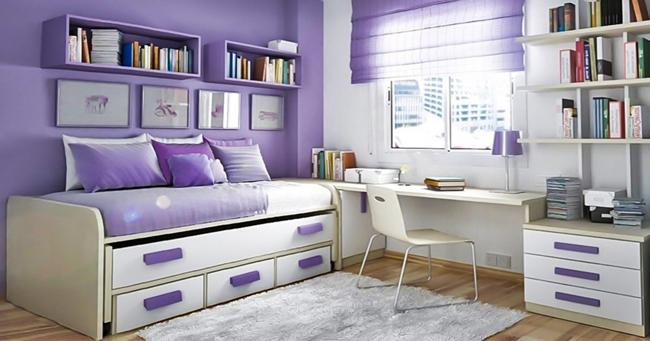 9 ideias interessantes para aproveitares ao máximo o espaço de um quarto pequeno!