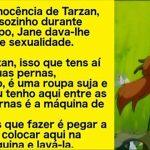 Jane inicia Tarzan aos prazeres da vida…