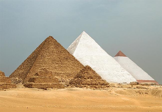 Assim seriam alguns dos lugares e edifícios mais famosos do mundo! É impressionante!