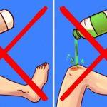 9 Coisas que nunca deves fazer ao prestar os primeiros socorros!