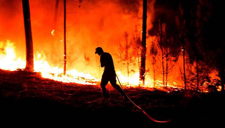 """""""Uma pessoa vai para lá e não sabe se volta""""- O depoimento emotivo de um bombeiro que se tornou viral!"""