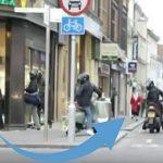 Estes jovens assaltavam uma joalharia… Mas de seguida, uma idosa correu atrás deles…